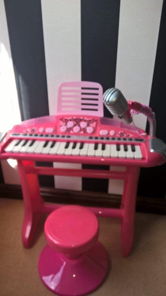 Kids Piano & Stool