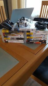 15 PS3 Games and 2 controllers for sale