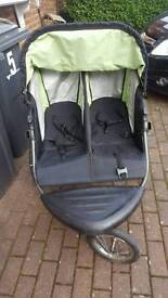 mothercare detour twin buggy