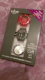 Vibe watch gift set