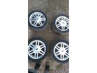 4 x Ford Fiesta Alloys 195/50/R15 £70 ono