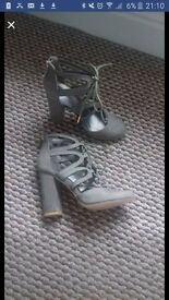 size 5 lace up heels