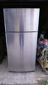 frost free Siemens stainless steel fridge freezer