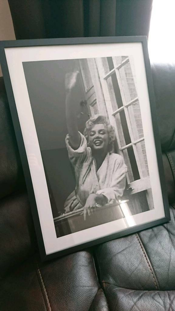 Marilyn framed picture