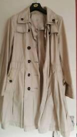 Rocha John rocha Debenhams coat size UK 16