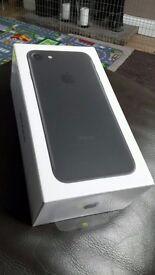 Phone 7 32g black sealed BNIB O2 GIFFGAFF