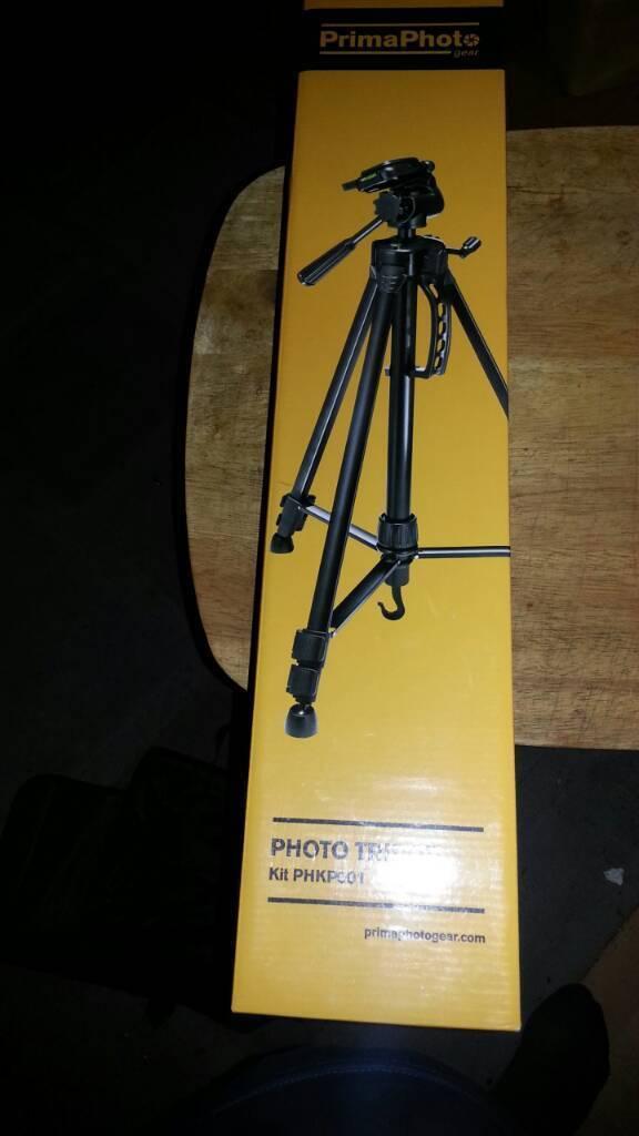 Brand new camera tripod