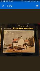 Ron Ranson: The Art of Edward Wesson. Hardcover, 1993.