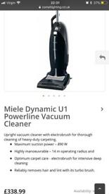 Miele upright hover