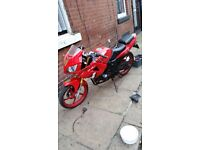61 plate Lexmoto xtrs 125 rolling chassis SWAPS OR £75
