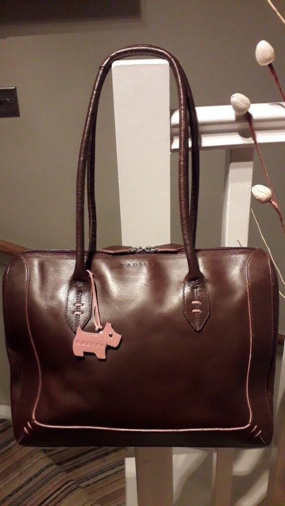 Radley Leather Handbag Or Shoulder Bag