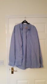 Mens Pale blue Timberland Shirt in size larger
