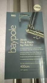 Brand new Dunelm 28mm Mix & Match Baypole kit