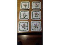 Portmerion coasters set of 6 unused