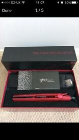 GHD Limited Edition Metallic Hair Straightners