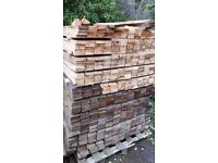 Pallet wood 900mm x 75mm x 16 mm make your own picket