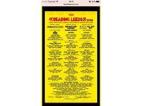 2x Leeds Weekend Tickets