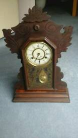 Antique clock by new haven clock co u s a for repair call 07955203599