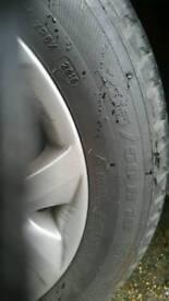 2x tyres 235/50 R18 97V MICHELIN 7+ mm for BMW MERCEDES AUDIO VW 4X4 X3 X5 TOUAREG TIGUAN