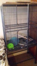 LARGE PET CAGE, ideal for degus, chinchillas, rats etc