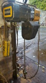 Kone Electric Chain Hoist / Crane 250kg
