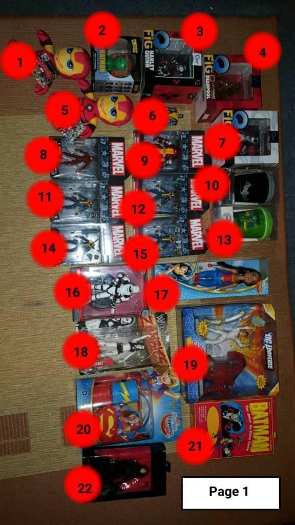 Superhero, Sci-Fi, Marvel, DC Comics
