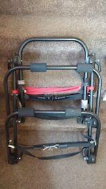 Bike rack for 2 bikes