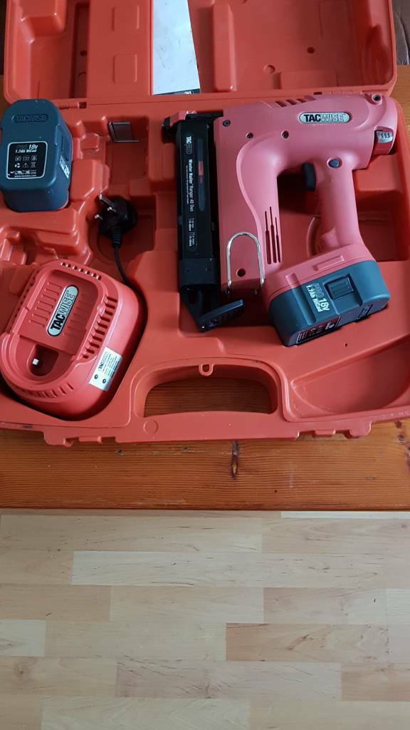 Tacwise 2nd fix nailgun