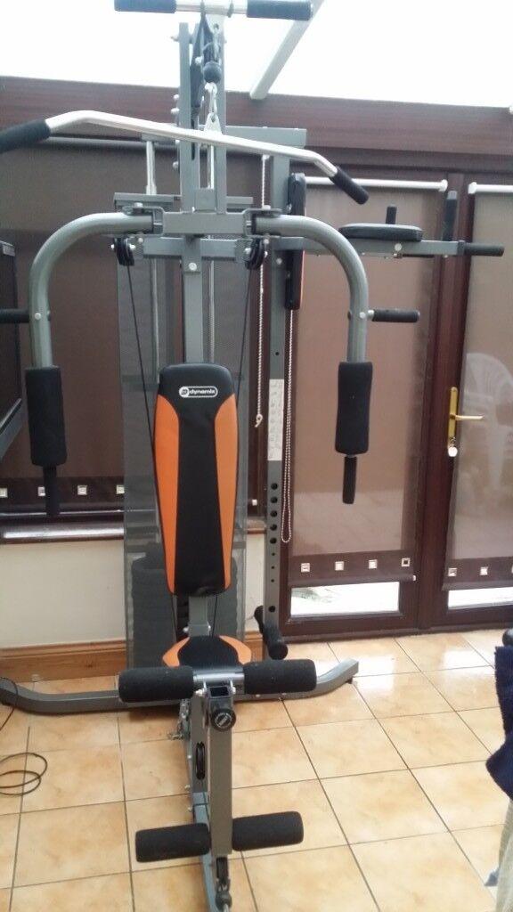 Dynamix home gym manual