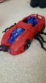 Spider man car