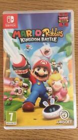 Brand new Mario + Rabbids kingdom battle switch