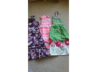 3 gorgeous summer dresses aged 7-8 years
