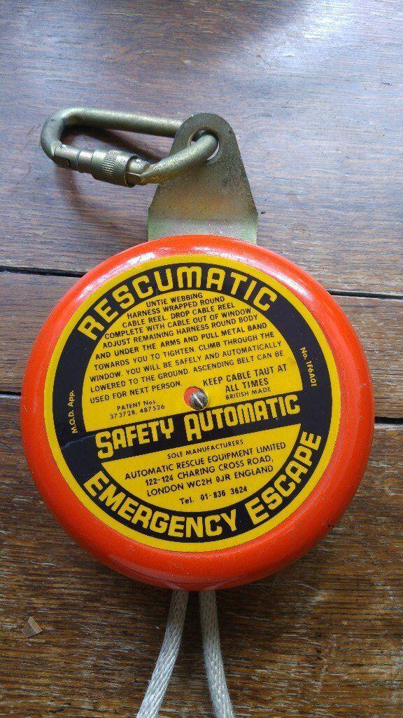 RESCUMATIC EMERGENCY ESCAPE SYSTEM