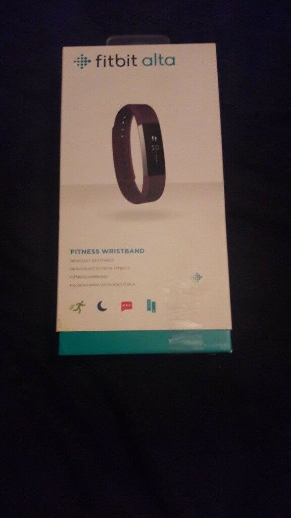 Brand new boxed Fitbit alta