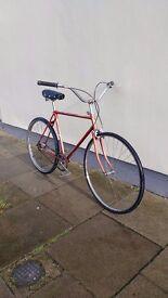 Vintage Royal Enfield Cruising Bike