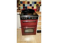 Gourmet Double Oven Red