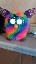 Furbie furby rainbow toy