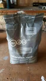 Grout - Porcelanosa Butech Colorstuk sanded grout (white) (1.1litre) (5kg)