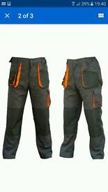 Mens work trousers band new