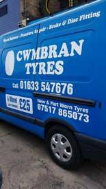 Tyres all sizes new and part won't warn