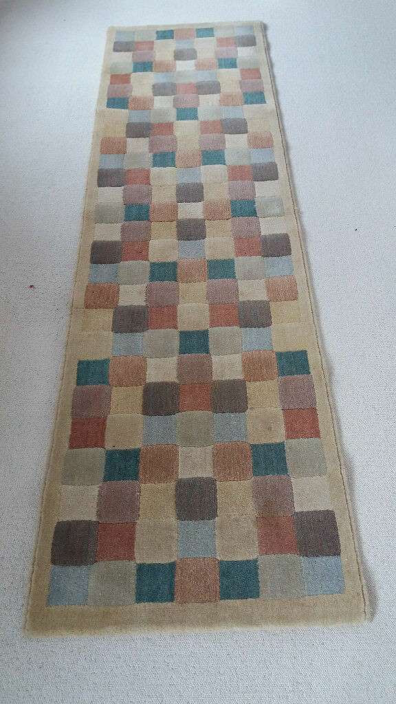 Covtex Feizy Larousse 100 Wool Pile Multi Checked Hall