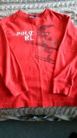 Ralph Lauren Boys top