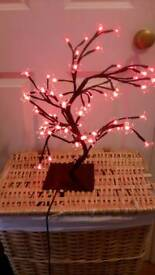 Light up bonsai tree 40cm barely used