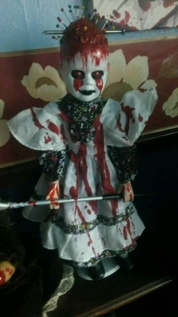Homemade horror dolls