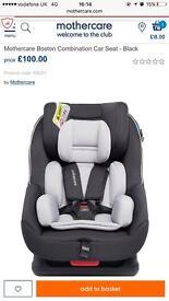 Mothercare Boston Combination Car Seat