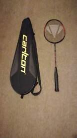 Carlton™ Badminton Racket + Carry Case