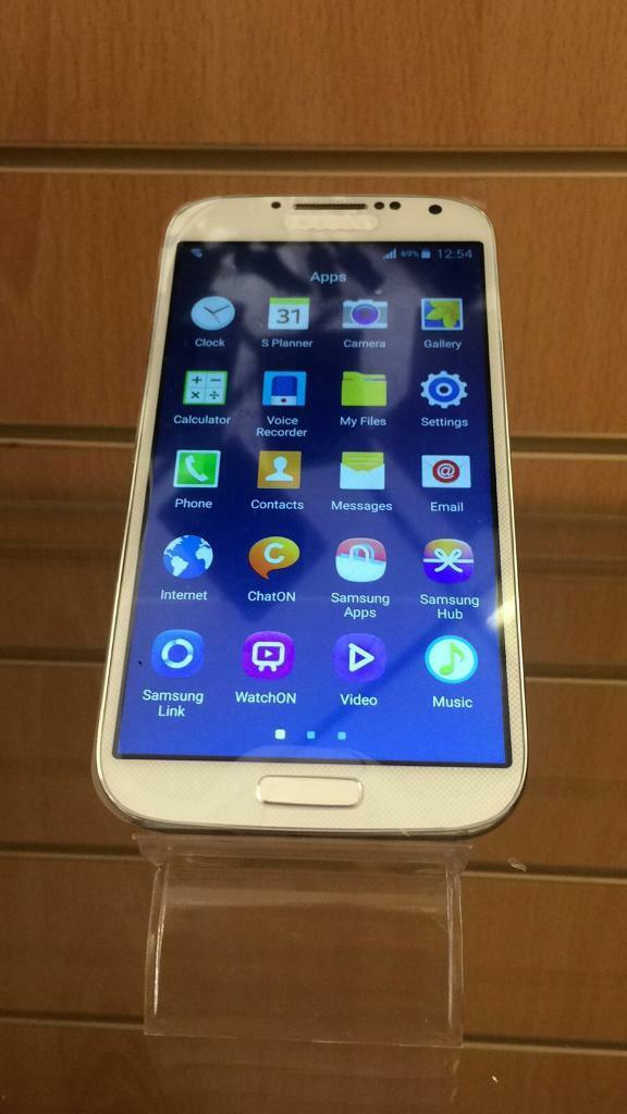 Samsung S4 Unlocked Whitein DundeeGumtree - Samsung S4 White 16gbOpen to any networksFully refurbishedComes with charger£100Can drop off locally