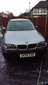 2006 BMW X3, MOT TILL MARCH 2018, SERVICE HISTORY, GREY LEATHER, LOVELY CONDITION. LPG conversion. .