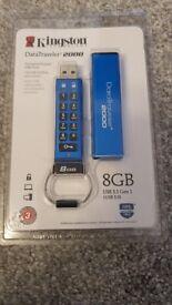 Kingston DataTraveler 2000 USB Flash Drive - 8GB - £40ono