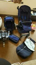 Jane Muum with Koos travel system and extras!!
